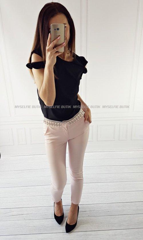 Spodnie TRINI róż