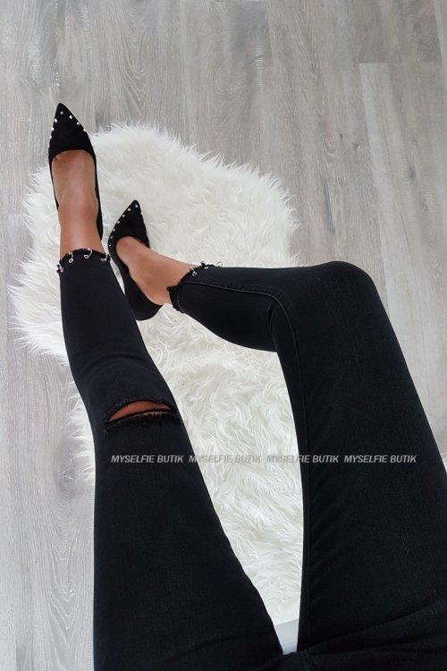 Spodnie ZARA BLACK czarne