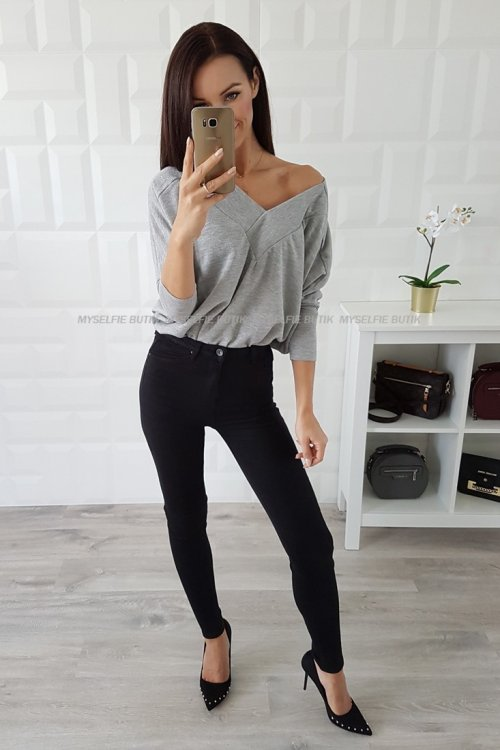 Spodnie LUCKY czarne