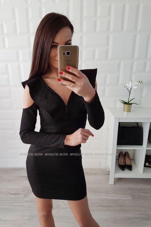 Sukienka VALENCIA czarna