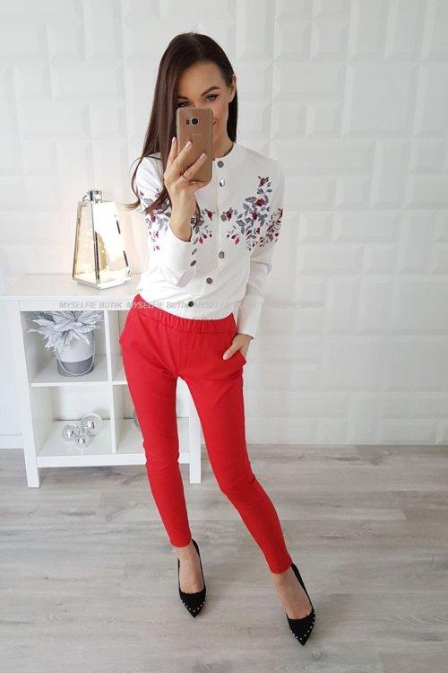 Spodnie LOU czerwone