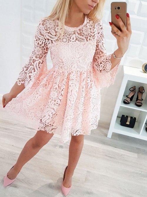 Sukienka SORAYA różowa