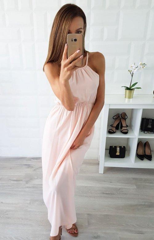 Sukienka SUNSET różowa