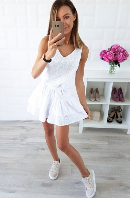 Sukienka KAYA biała