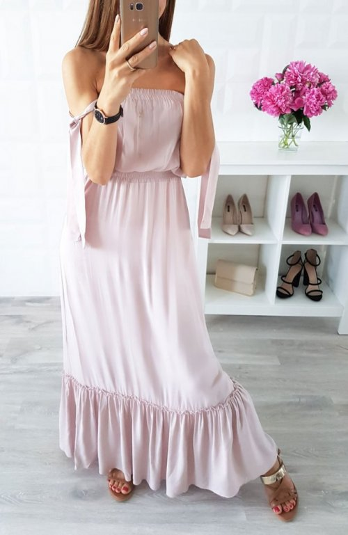 Sukienka SPAIN beżowa