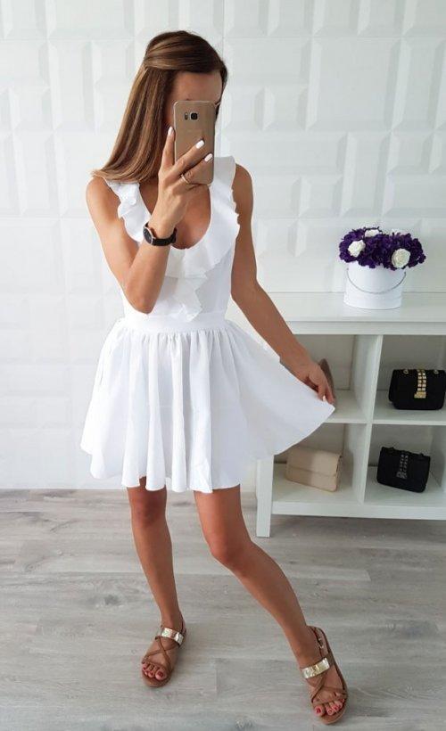Sukienka CARMEN biała