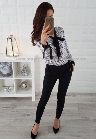 Spodnie LOU czarne