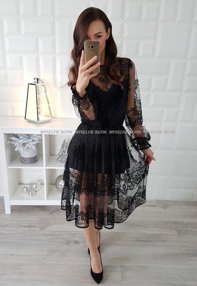 Sukienka CRISTAL black