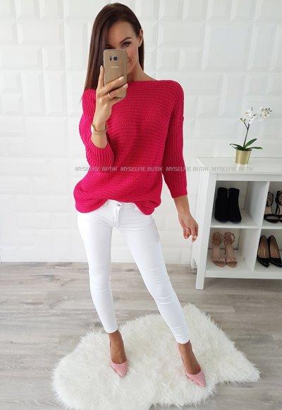 Spodnie LUCKY białe