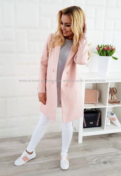 Płaszcz CRISTA puder róż