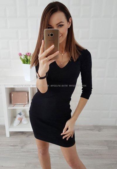 Sukienka SIGMA V czarna