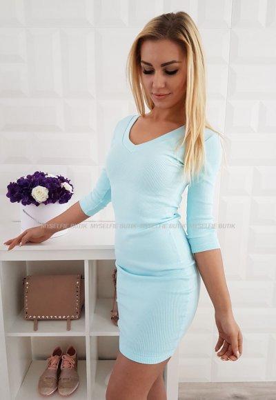 Sukienka SIGMA V niebieska