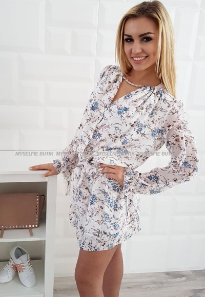 Sukienka LETICIA I kwiatowy wzór