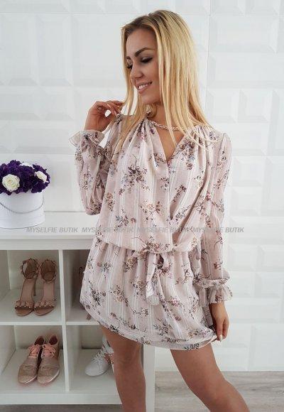 Sukienka LETICIA II kwiatowy wzór