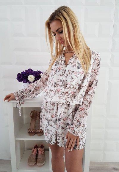 Sukienka LETICIA III kwiatowy wzór