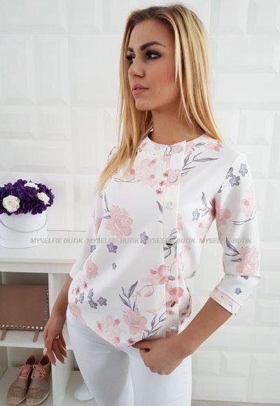 Bluzka ROSA kwiatowy wzór