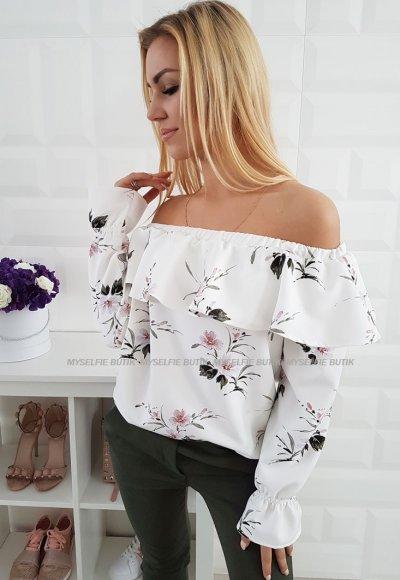 Bluzka GAIA kwiatowy wzór