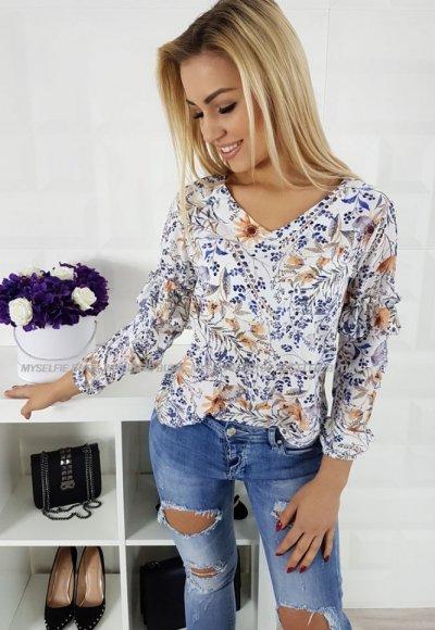 Bluzka LIZBONA kwiatowy wzór