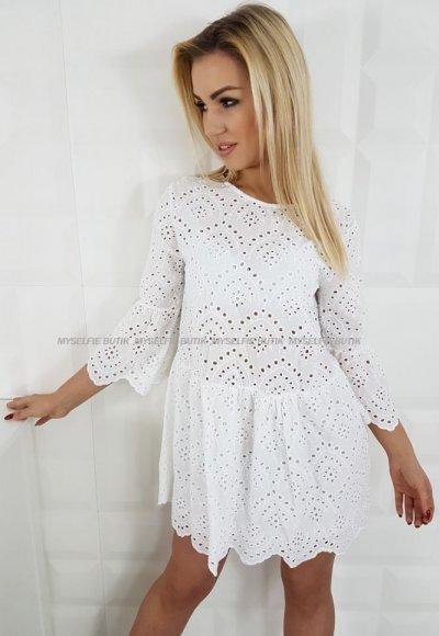 Sukienka SANDY biała