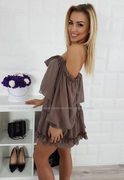 Sukienka PALERMO beż