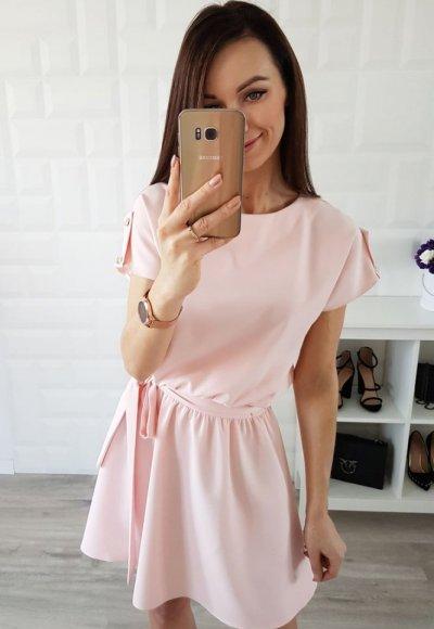 Sukienka STYLE różowa