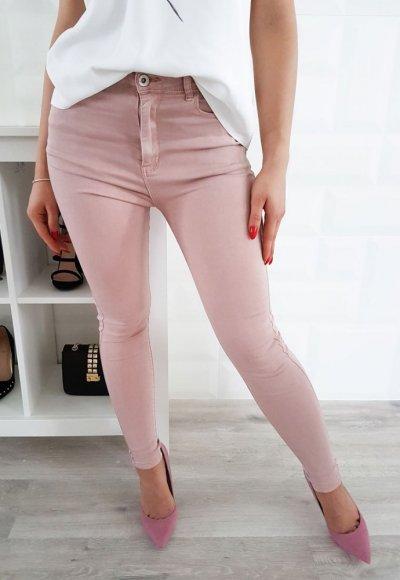 Spodnie SLIM pudrowy jeans