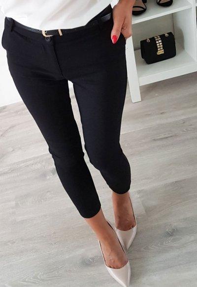 Spodnie AVENUE czarne
