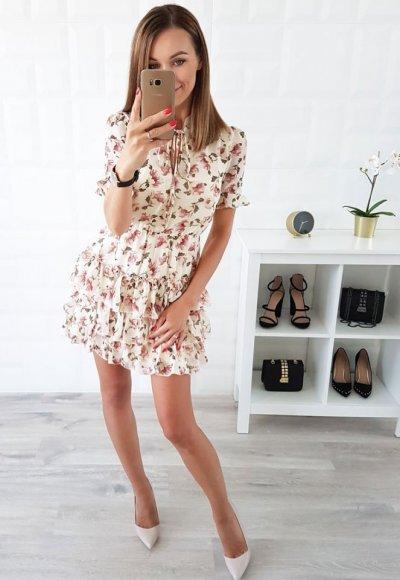 Sukienka LIVI kwiaty