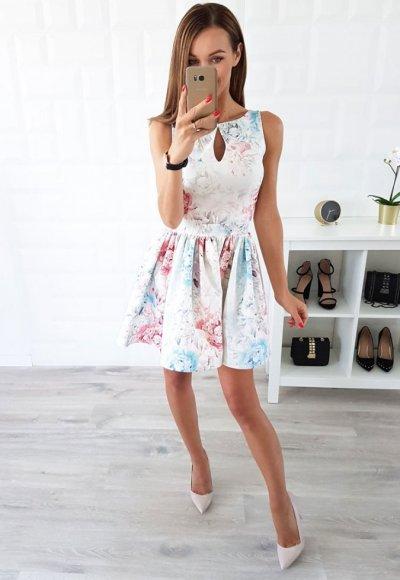 Sukienka FELICIA kwiaty