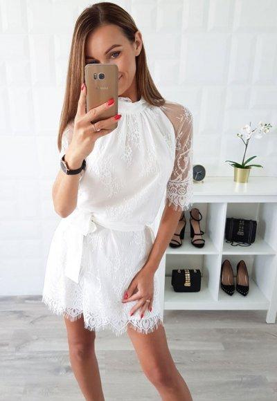 Sukienka KATE biała