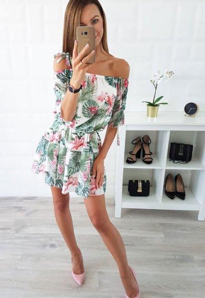 Sukienka CAOLA wzory