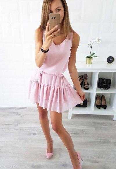 Sukienka KAYA różowa