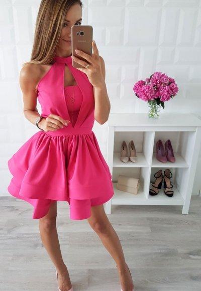 Sukienka NATALIA fuksja
