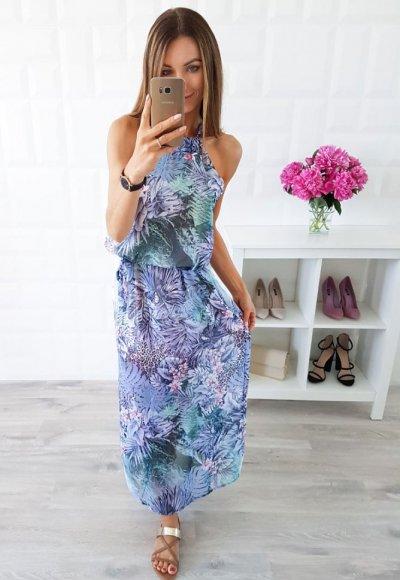 Sukienka BALI II egzotyczny wzór