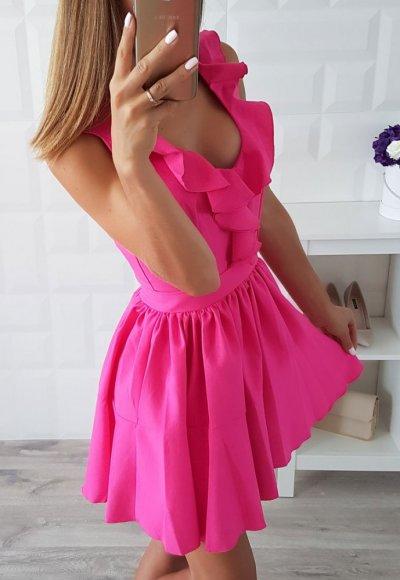 Sukienka CARMEN fuksja