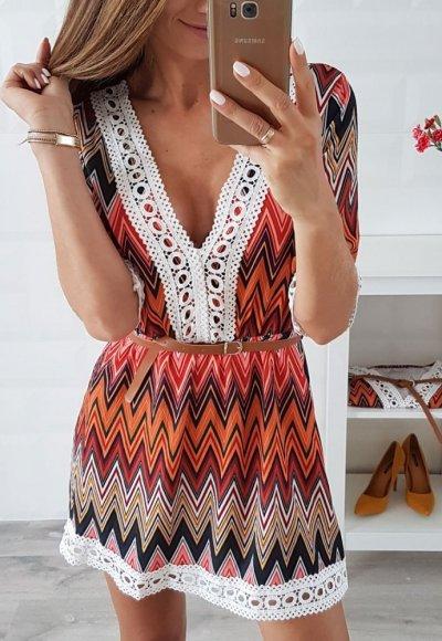 Sukienka BONITA VI we wzory